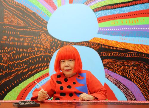 Yayoi Kusama, un point dans l'univers