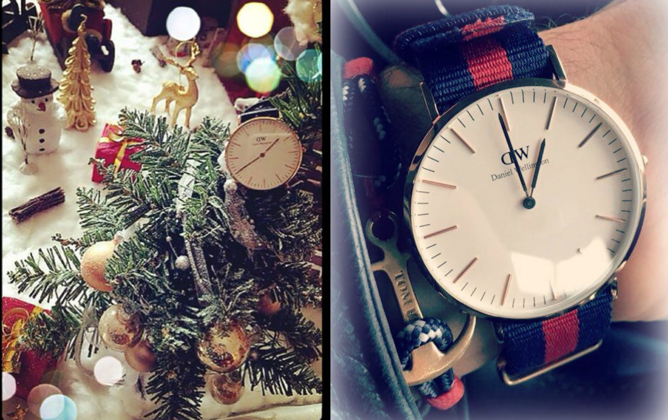 Fabuleux Daniel Wellington & Tom Hope - Eloyz's & Sam KW12