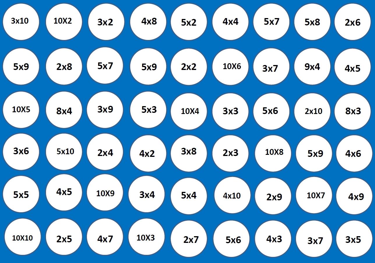 Les Tables Avec Puissance 4 Entrainements Jeux Corrections