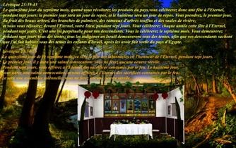 Quelle est la Fête des Tabernacles / Souccot?