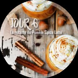 Jour 6 : La recette du Pumkin Spice Latte