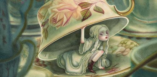 Lewis Carroll, Les Aventures d'Alice au pays des merveilles, Benjamin Lacombe