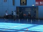 Dernier sport pour cette année de CM1 : le badminton