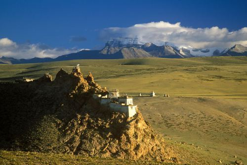 Chiu Gompa and Mt Kailash
