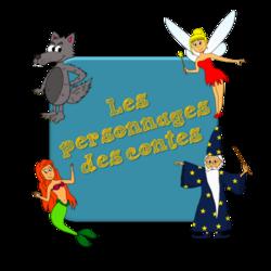Mes dessins des personnages des contes