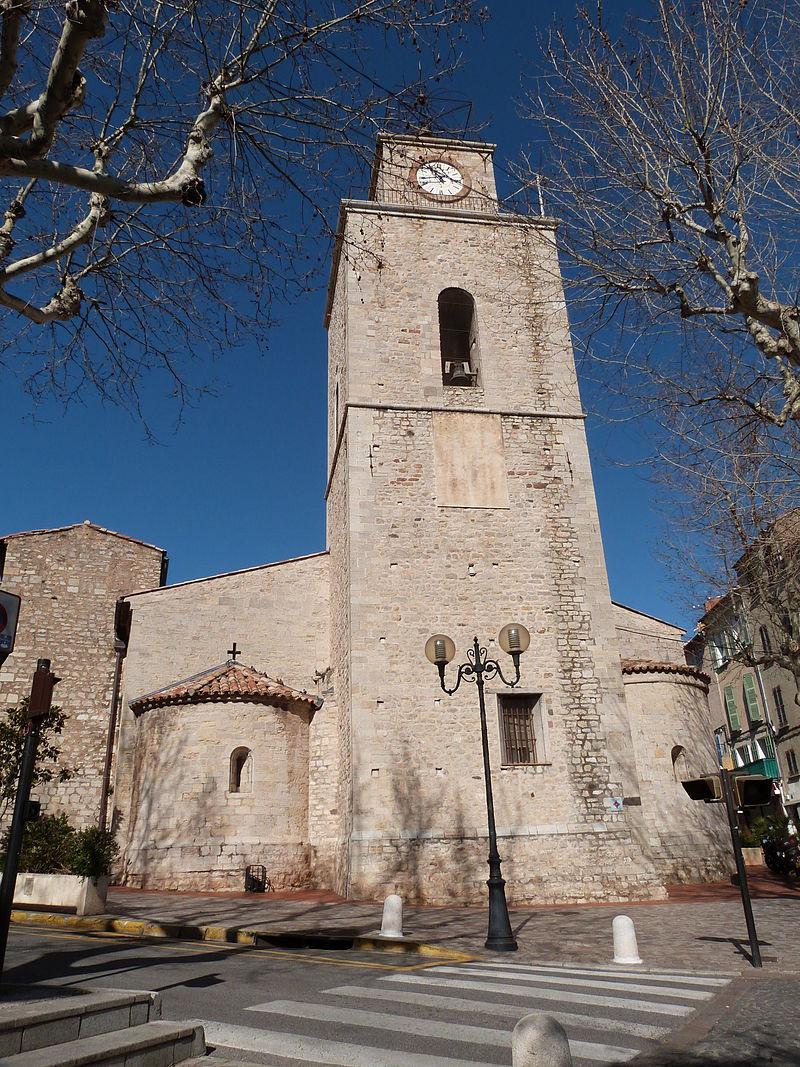 Façade principale de l'église Saint-Laurent.JPG