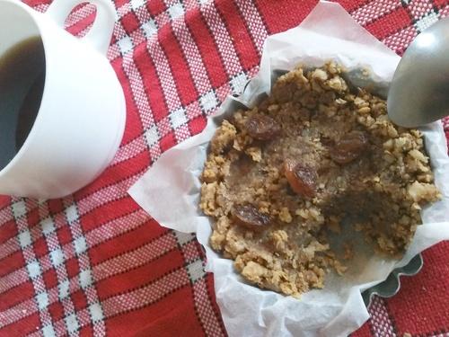 Tartelette crue aux noix de Bourgogne