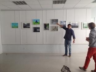 Exemple de galerie d'exposition
