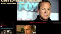 Kiefer Sutherland, filmographie