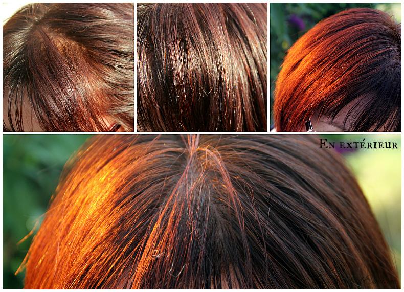 Teinture cheveux henne rouge