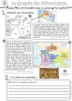H1 : Clovis et les mérovingiens