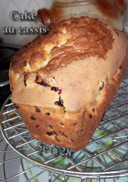 Cake au cassis (Thermomix)