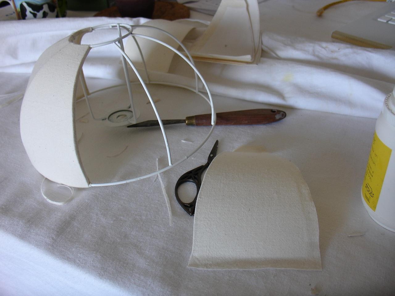 Patron Abat Jour Papier la lampe champignon - le chaudron de la fée kara'mel