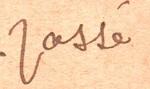 Etude graphologique d'une lettre de Maurice Joron