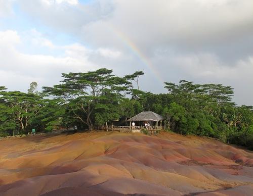 La terre des 7 couleurs à Chamarel