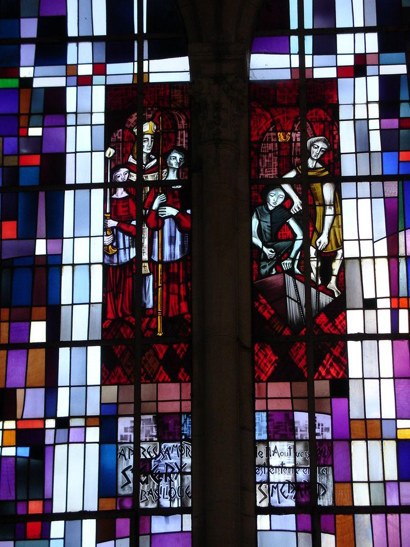 Arras église Saint-Géry vitrail 10.JPG