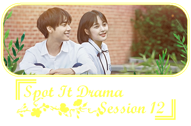 ✎ Spot It Drama | Session 12