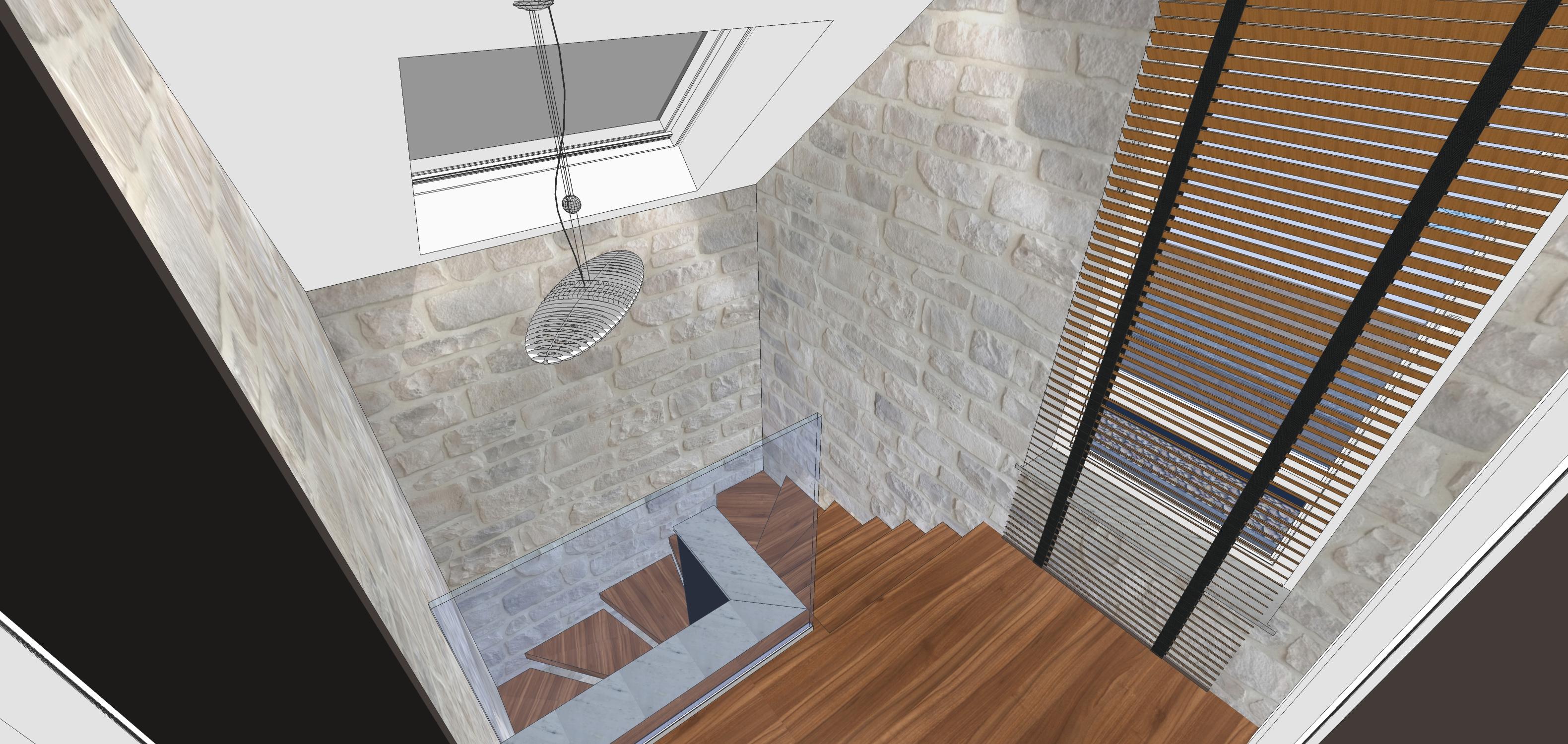 Huile Pour Escalier Hetre l'escalier - construction d'une maison thomas et piron