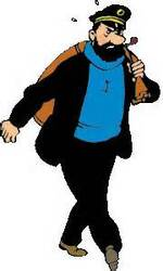 Tintin et la mer....