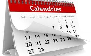 Le rituel calendrier