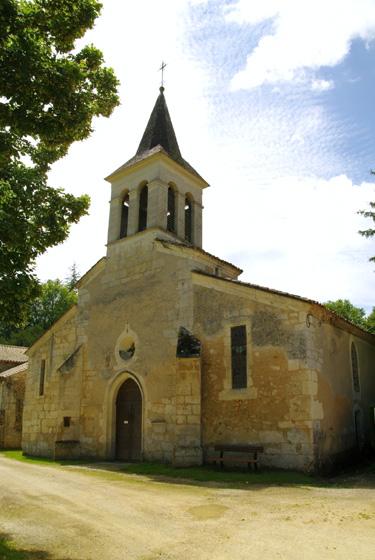 Dordogne - Saint-Martin-des-Combes - améthyste