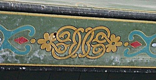 fresque sur cheminée