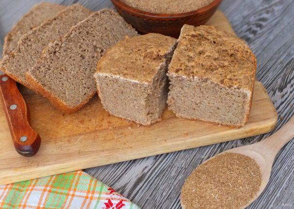Ржаной хлеб в хлебопечке для диабетиков