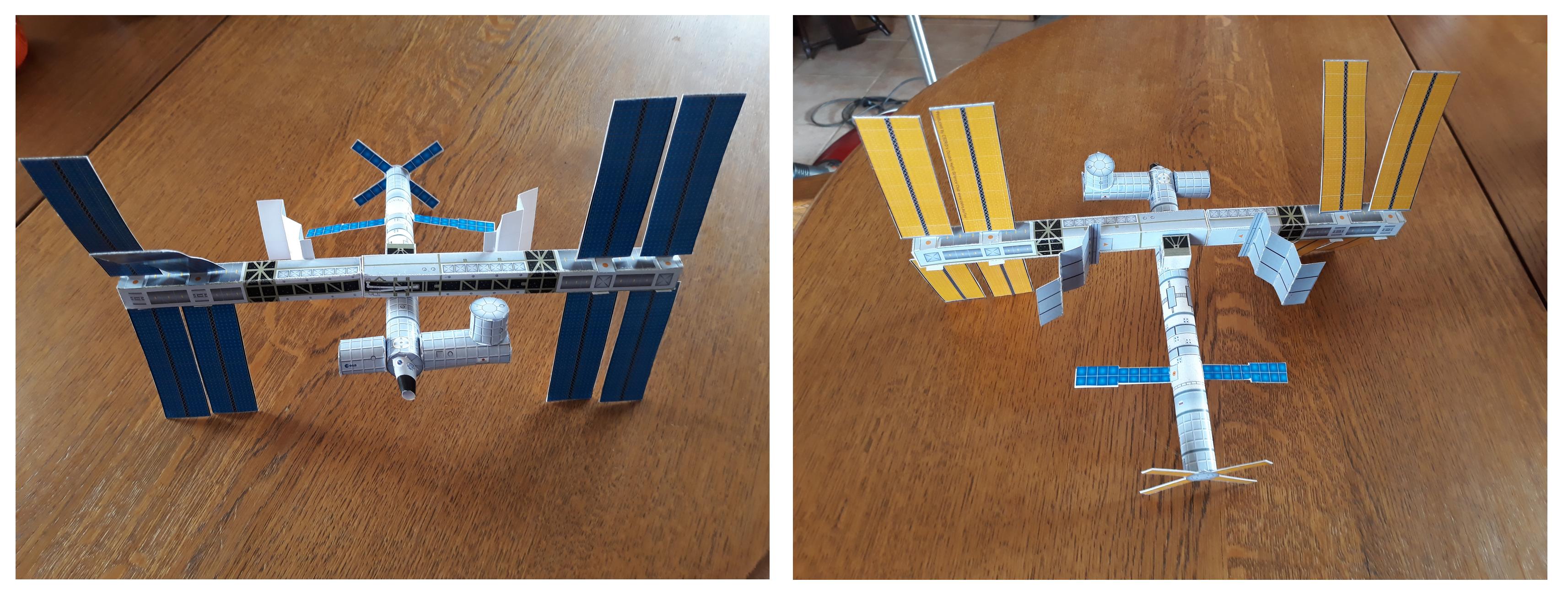 presentation maquette ISS