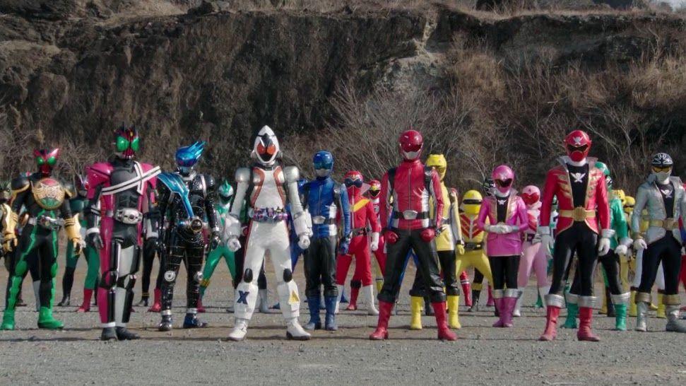 Kamen Rider x Super Sentai: Super Hero Taisen