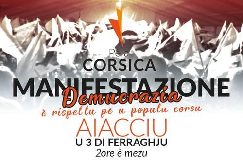 Appel à une mobilisation populaire le 3 février à Ajaccio !