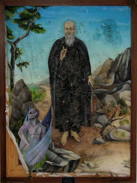 Saint Nil de Rossano. Fondateur de l'abbaye de Grottaferrata († 1005)