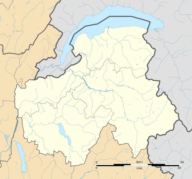 File:Haute-Savoie department location map.svg