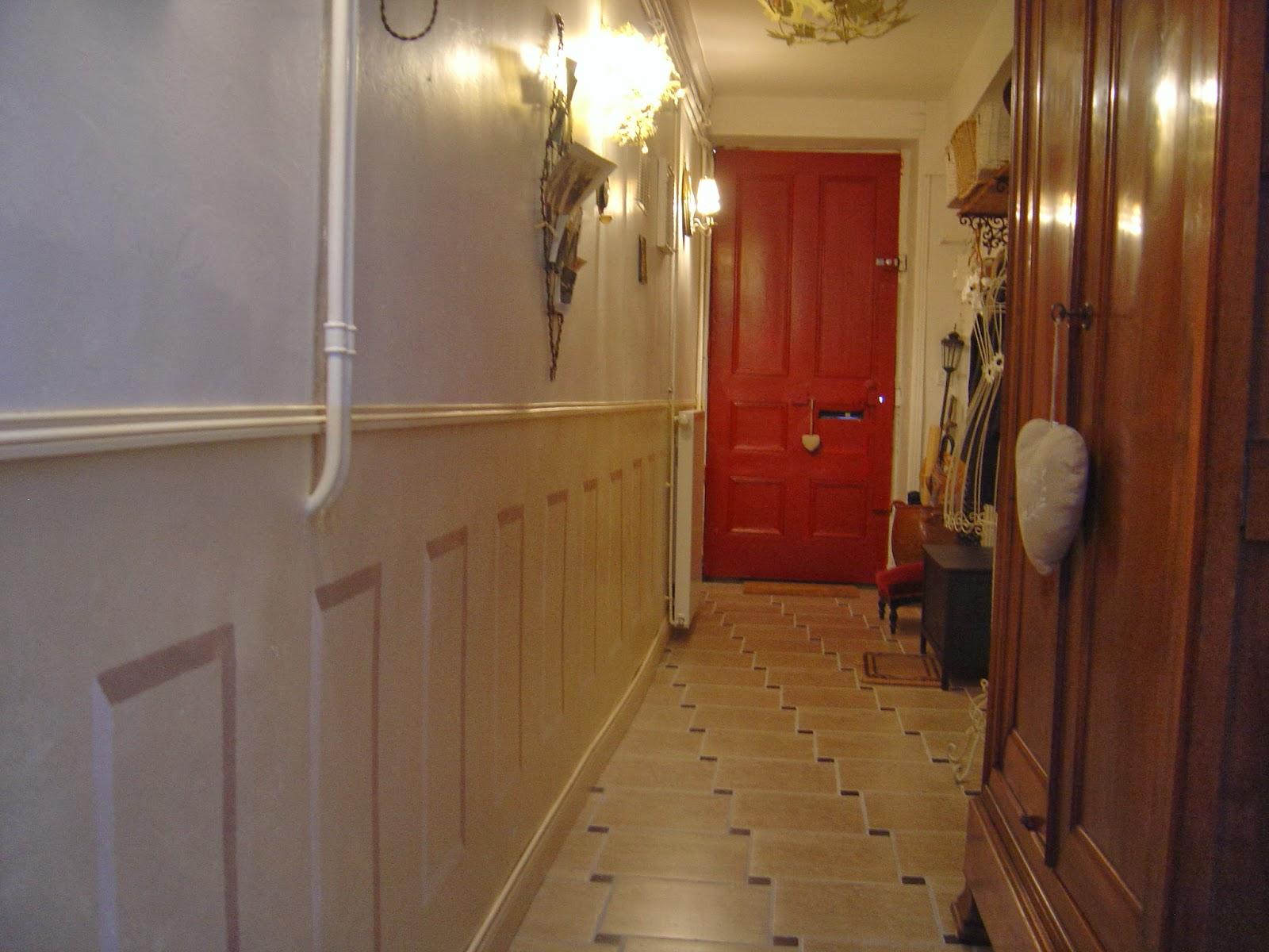 Soubassement Couloir En Bois diy : soubassements faits maison - dans ma maison, il y a