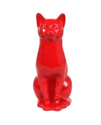 Chat rouge.
