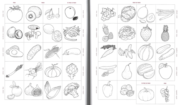 Les fruits et les légumes au choix