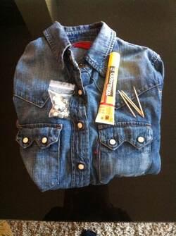 Do it yourself: customiser sa chemise en jean