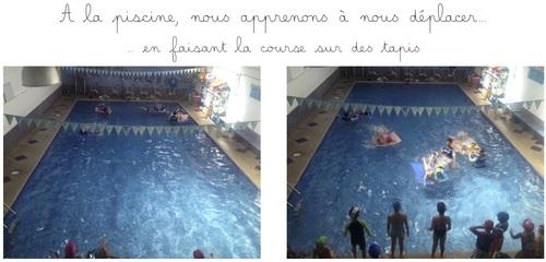 La piscine... séance 4