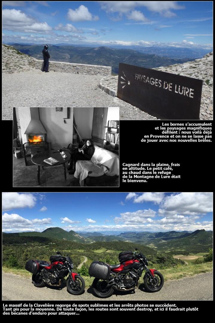 Eté 2016 en France : on the (motor)bikes again