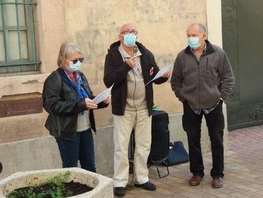 """Aude : le """"groupe des neuf"""" dénonce la """"quadruple peine"""" pour les retraités"""