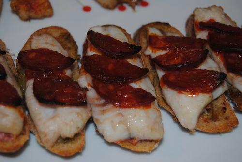 Tarine Terre/Mer de Rouget au Chorizo
