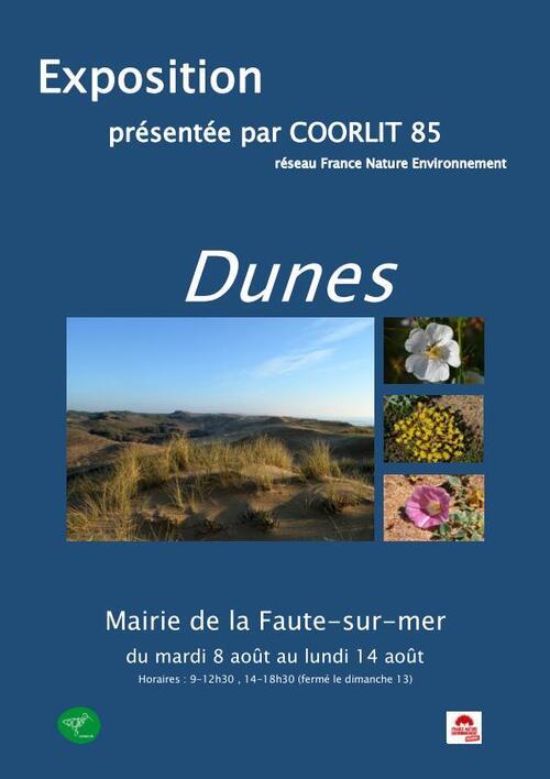 Dune fixée, dune mobile : une double exposition de COORLIT85