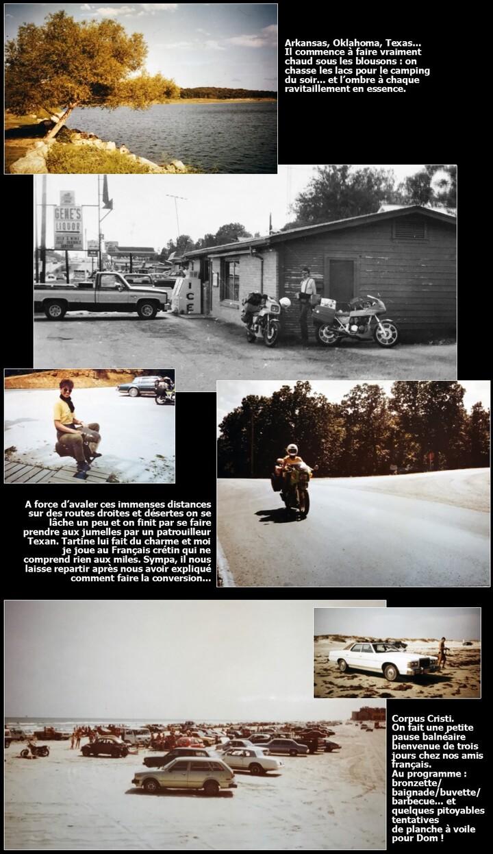 USA/2-1984 : Les états de l'Est à moto de route