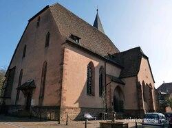 l'église protestante à Wissembourg