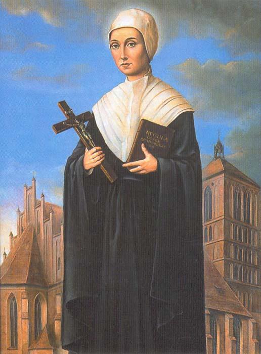 Bienheureuse Régina Protmann, fondatrice de la Congrégation des Sœurs de Sainte-Catherine († 1613)