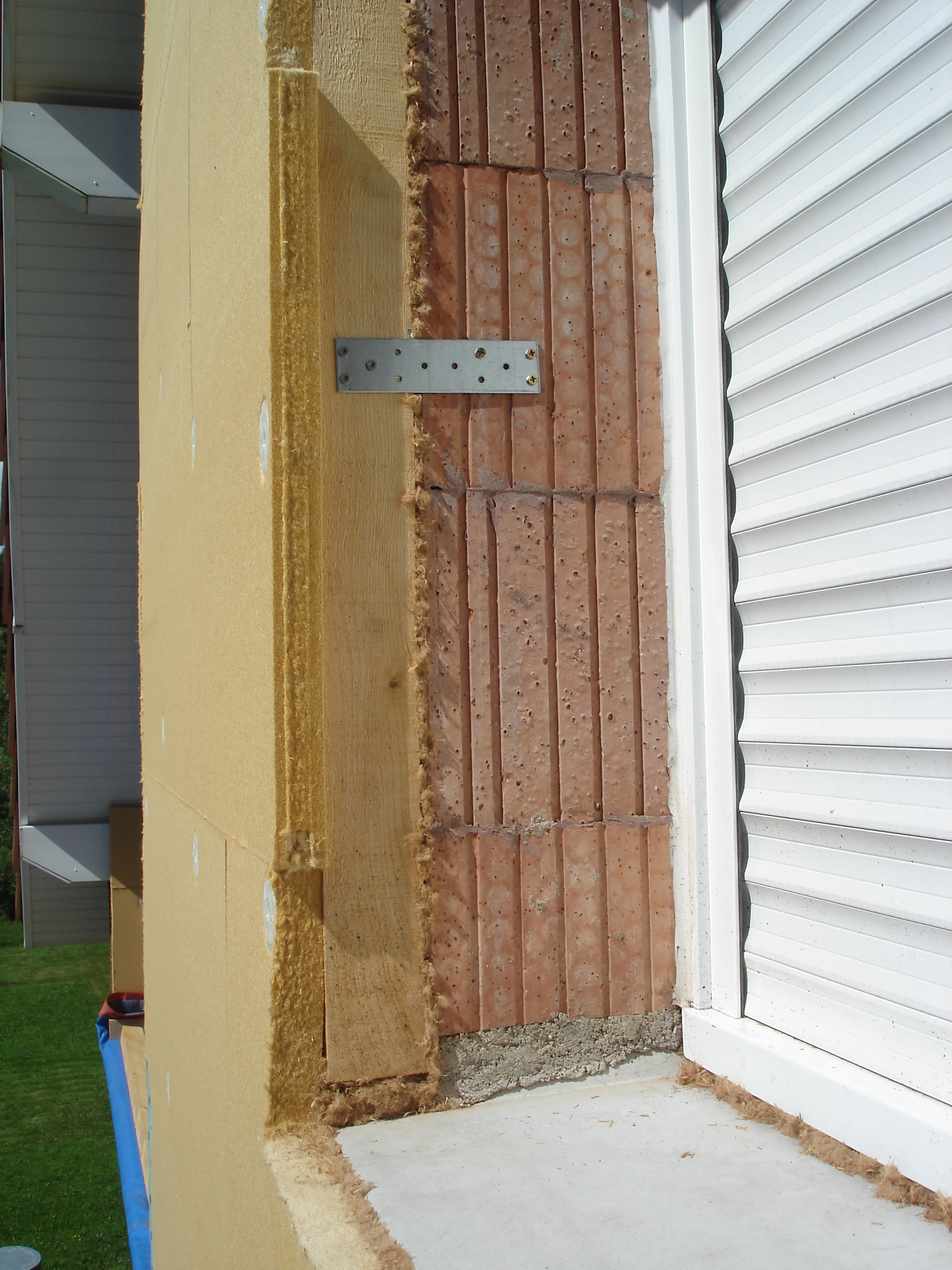 Entourage De Fenetre En Bois entourages de fenêtres - ite liege et fibre de bois
