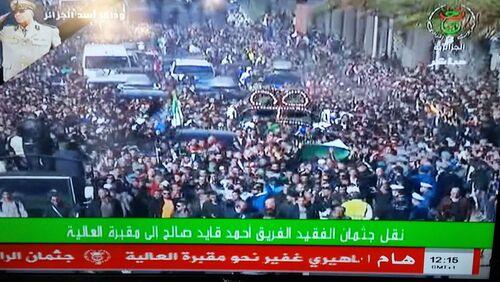 - ALGÉRIE : Après l'élection du président Tebboune et les funérailles du général Ahmed Gaïd Salah - Déclaration du Collectif novembre