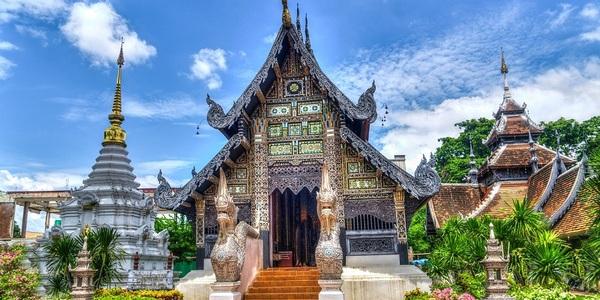 Wai en Thailande