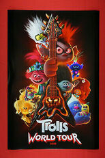 FILM TROLLS ANIMATION Silk Poster/Wallpaper 24 X 13 inches ...