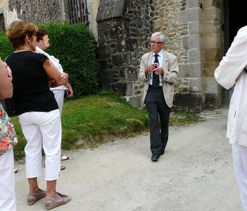 FONTAINE DANIEL (Mayenne) Visite de la filature