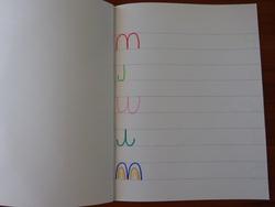 cahier de graphisme